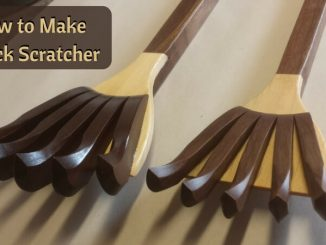 How to Make a Back Scratcher