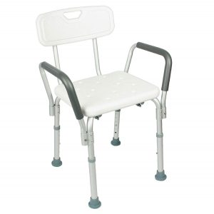 VIVE Shower Chair with Back