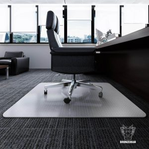 Bronzeman Desk Chair Mat for Carpet